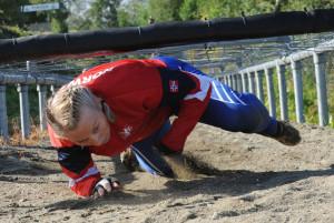 Wenche Rydning: I hinderbanen under VM i Trondheim 2012